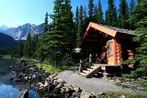 Lake O'Hara Lodge.